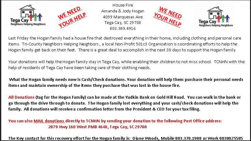 Help the Hogan Family